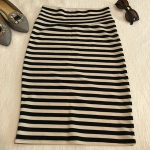 Lularoe Cassie Pencil Skirt Striped Size XS